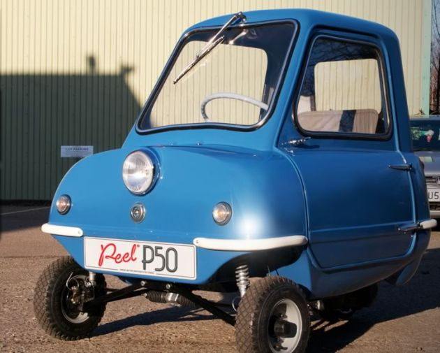 the smallest car in the world the peel p50 micro car. Black Bedroom Furniture Sets. Home Design Ideas